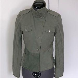 Jacket weather!  Oilily military inspired jacket